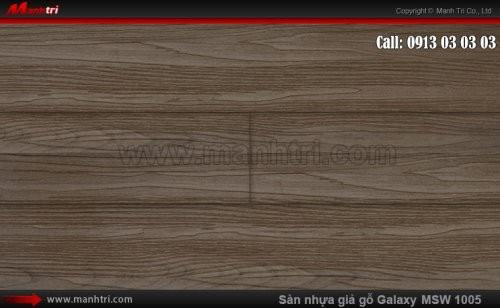 Sàn nhựa giả gỗ Vinyl Galaxy MSW 1005 -N