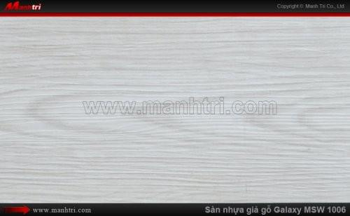 Sàn nhựa giả gỗ Vinyl Galaxy MSW 1006