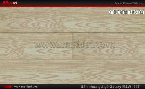 Sàn nhựa giả gỗ Vinyl Galaxy MSW 1007