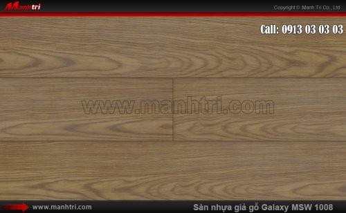 Sàn nhựa giả gỗ Vinyl Galaxy MSW 1008