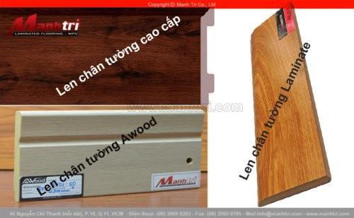 Đặc điểm và Ứng dụng của len chân tường trong lát sàn gỗ