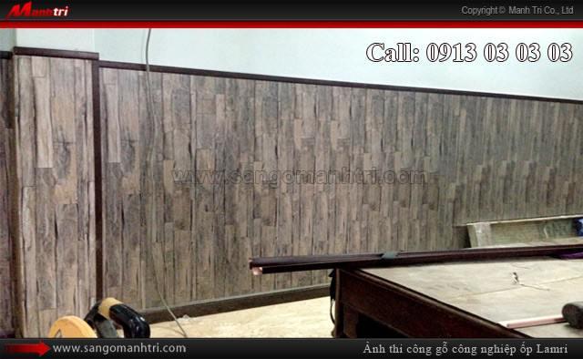 Gỗ Manhattan ốp lamri gỗ