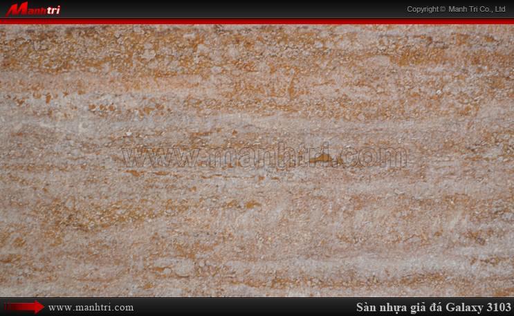 Sàn nhựa giả đá Galaxy MSS 3103