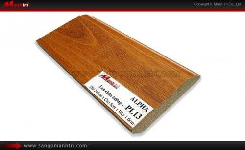 Len chân tường sàn gỗ PL13