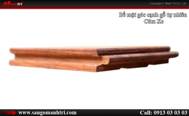 Hình ảnh ván gỗ tự nhiên Căm Xe