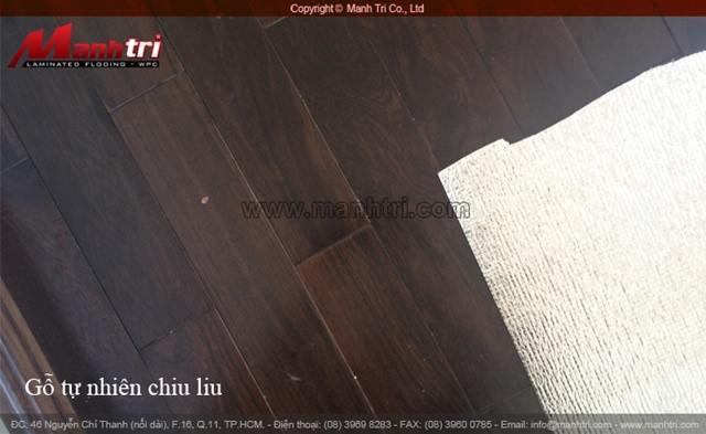Sàn gỗ tự nhiên thi công lắp đặt hoàn thiện