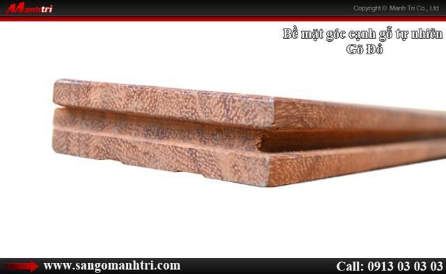 Hình ảnh gỗ tự nhiên Gõ Đỏ dùng lót sàn