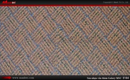 Sàn nhựa vân thảm Galaxy MSC 2104