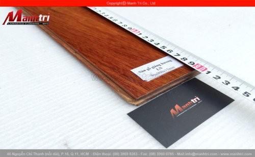 Sàn gỗ tự nhiên Giáng Hương ghép LN