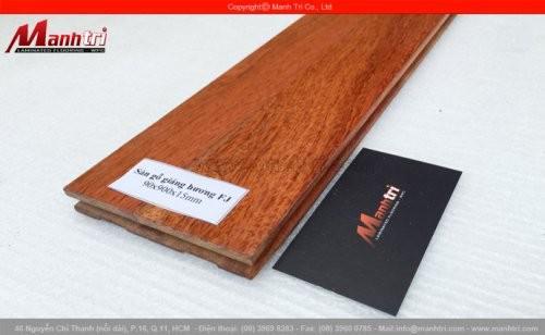 Sàn gỗ tự nhiên Giáng Hương ghép FJ