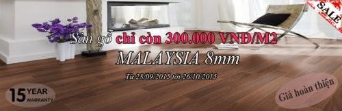 Sàn gỗ Malaysia chính hãng Smart Wood Giá đặc biệt chỉ có tại Mạnh Trí