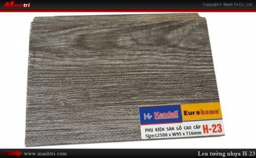 Len chân tường sàn gỗ H 23