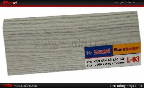 Len chân tường sàn gỗ L 03