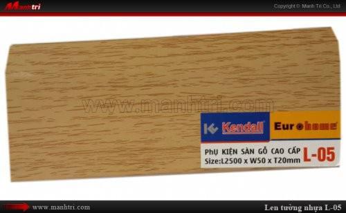 Len chân tường sàn gỗ L 05