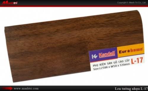 Len chân tường sàn gỗ L 17