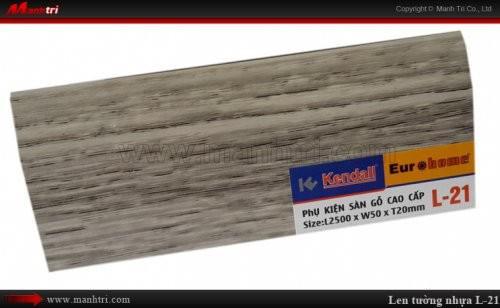 Len chân tường sàn gỗ L 21
