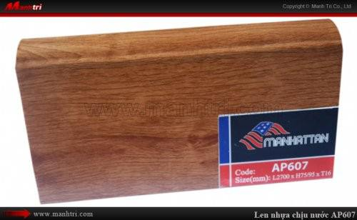 Len chân tường sàn gỗ AP607