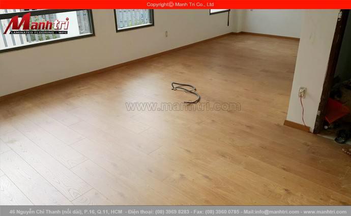 Sàn gỗ My Floor M1201 lắp đặt tại quận 2, TPHCM