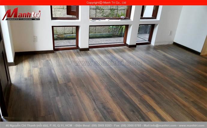 Thi công lắp đặt sàn gỗ My Floor M1203 tại quận 3, TPHCM