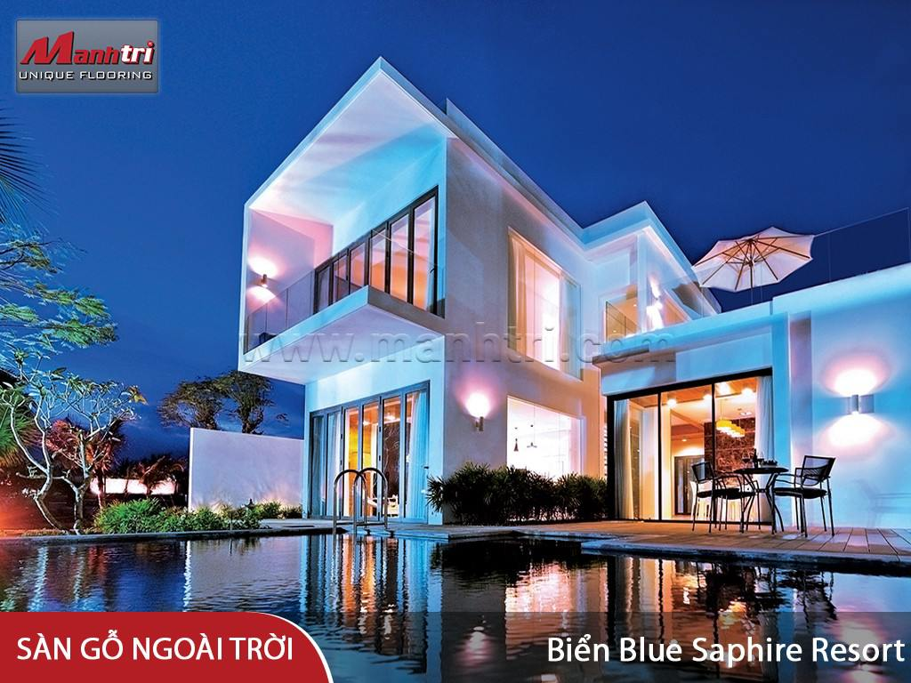 Khu du lịch Biển Blue Saphire Resort