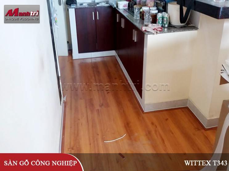 Sàn gỗ Wittex T343 tại quận Bình Tân HCM