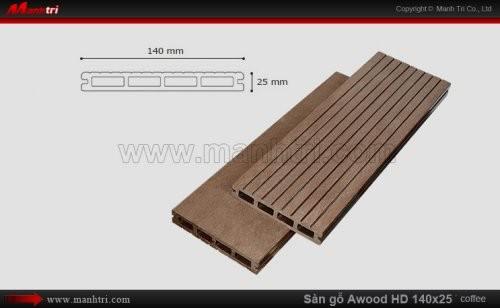 Sàn gỗ Awood HD140x25