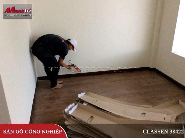 Lắp đặt sàn gỗ Classen 38422 tại Thành Phố Đà Lạt
