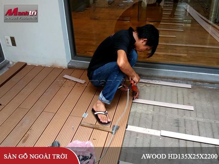 Ván sàn gỗ Awood HD140_Wood lót sàn tại quận 3, TPHCM