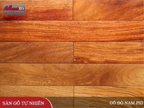 Sàn gỗ tự nhiên Đỏ Nam Phi