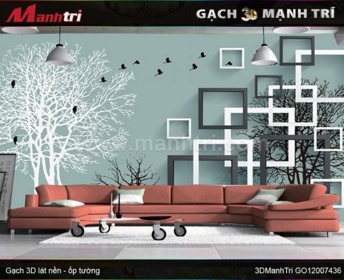 Gạch 3D Mạnh Trí GO12007436