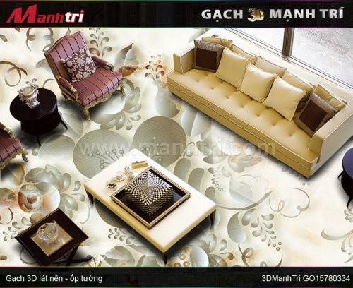 Gạch 3D Mạnh Trí GO15780334