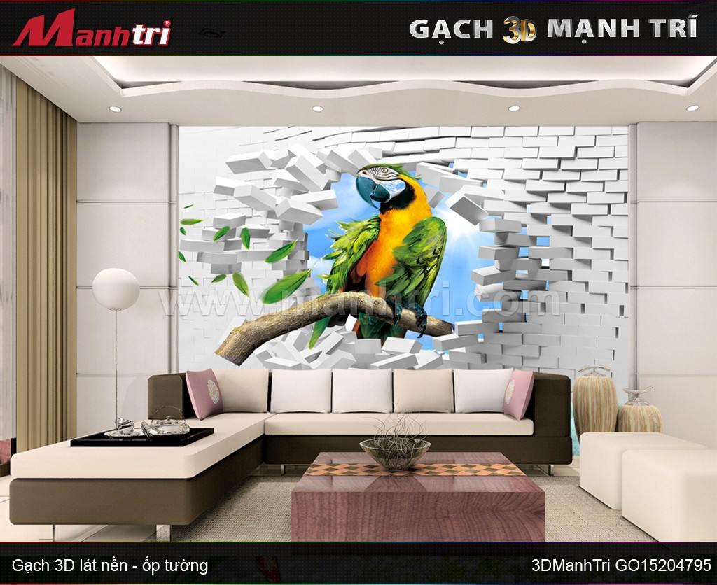 Gạch 3D Mạnh Trí GO15204795