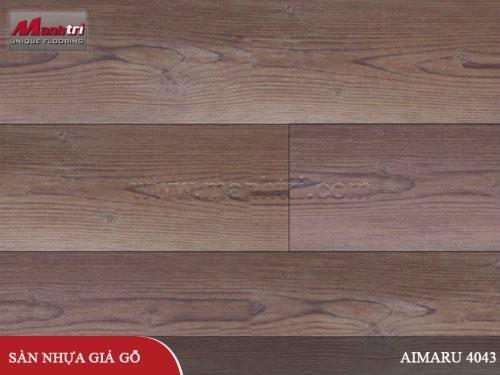 Sàn nhựa giả gỗ Aimaru 4043