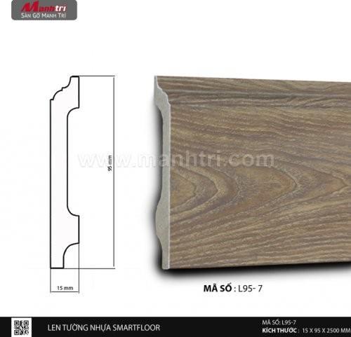 Len tường nhựa Smart Floor L95-7