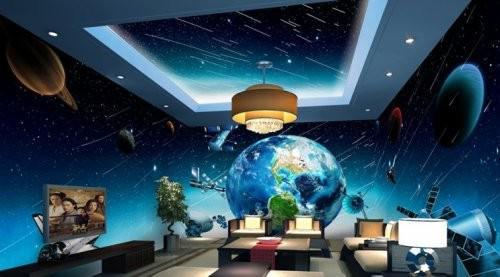 Gạch 3D vũ trụ