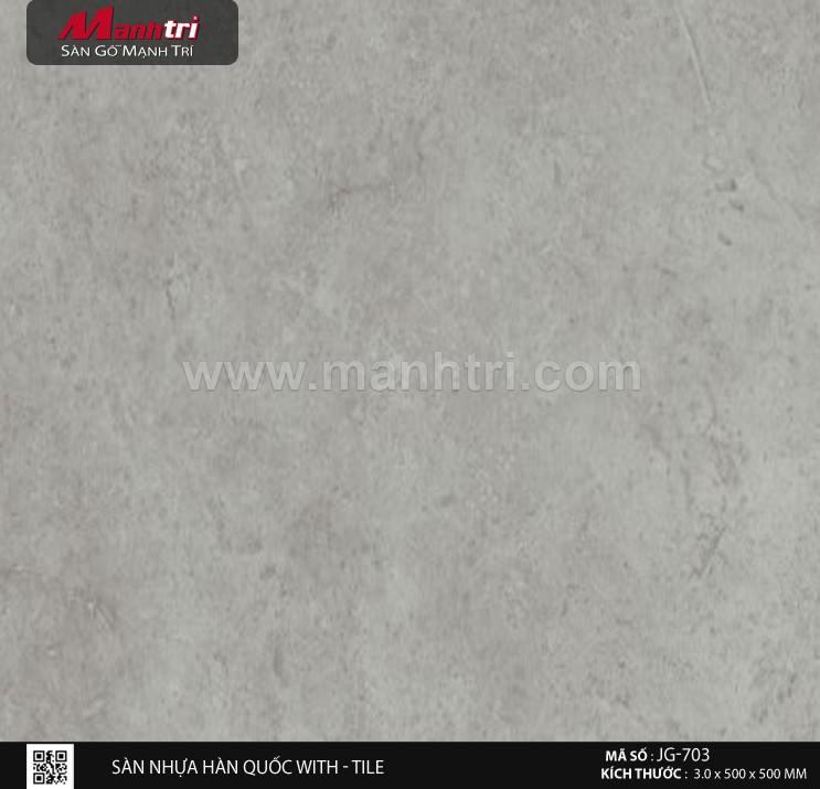 Sàn nhựa With - Tile JG-703