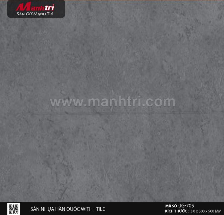 Sàn nhựa With - Tile JG-705
