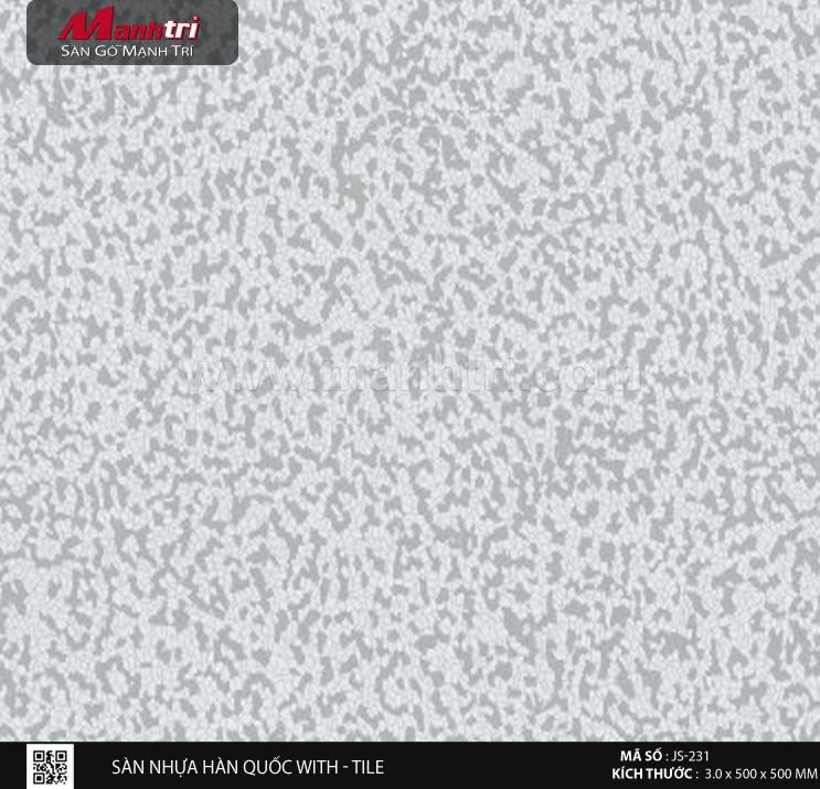 Sàn nhựa With - Tile JS-231