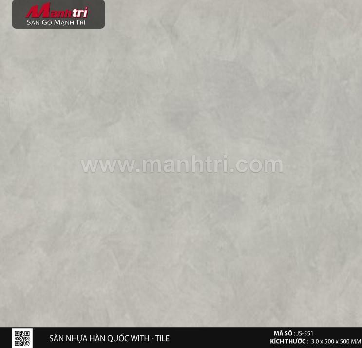 Sàn nhựa With - Tile JS-551