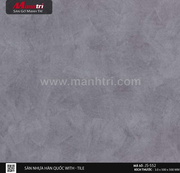 Sàn nhựa With - Tile JS-552