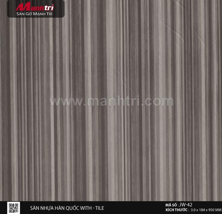 Sàn nhựa With - Tile JW-42