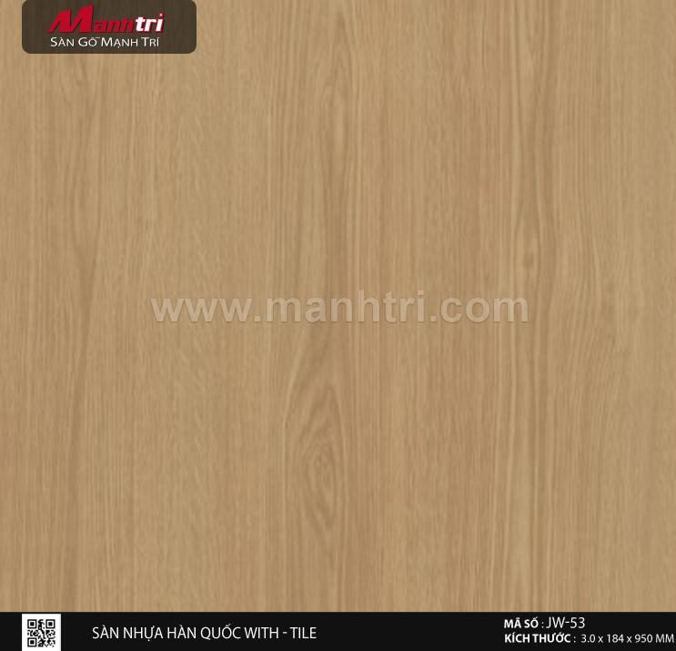 Sàn nhựa With - Tile JW-53