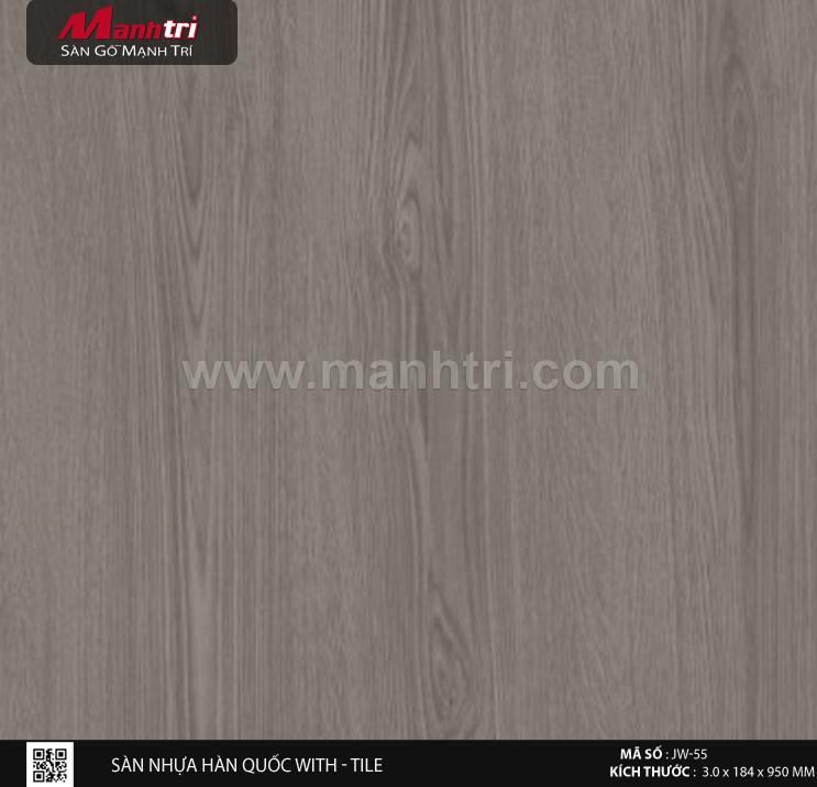 Sàn nhựa With - Tile JW-55