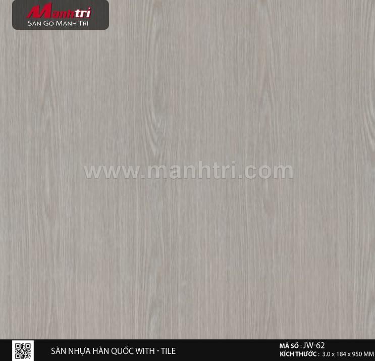 Sàn nhựa With - Tile JW-62