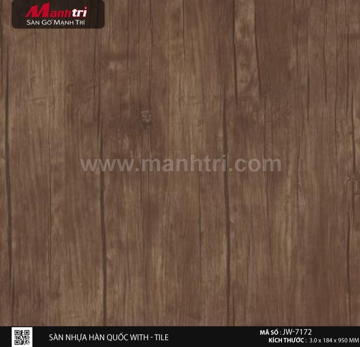 Sàn nhựa With - Tile JW-7172
