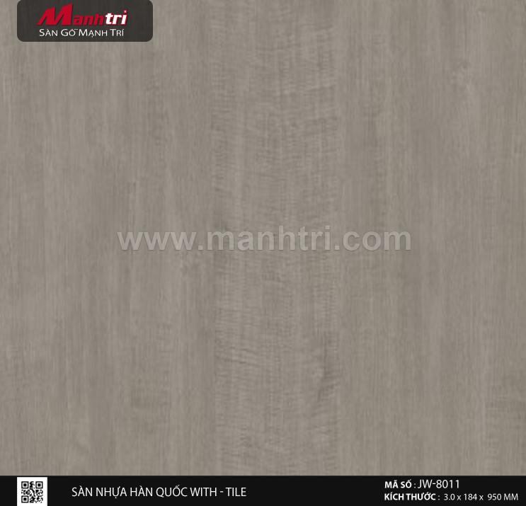 Sàn nhựa With - Tile JW-8011