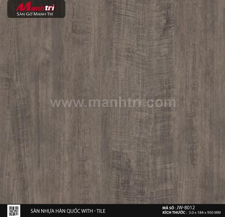 Sàn nhựa With - Tile JW-8012