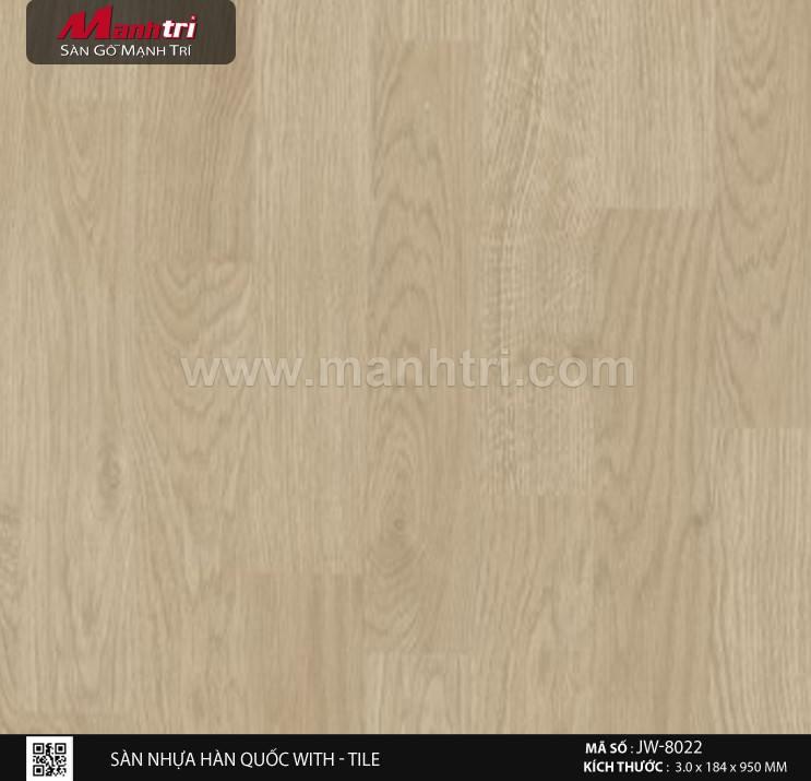 Sàn nhựa With - Tile JW-8022
