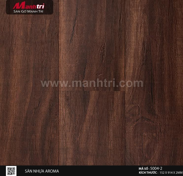 Sàn nhựa giả gỗ Aroma 5004-2