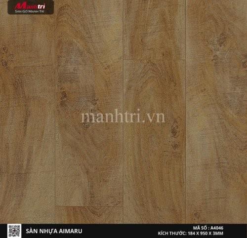 Sàn nhựa giả gỗ Aimaru 4046